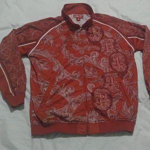 🔥Vintage Pelle Pelle  money print track jacket